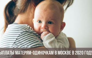 Пособия и льготы матерям-одиночкам в Москве