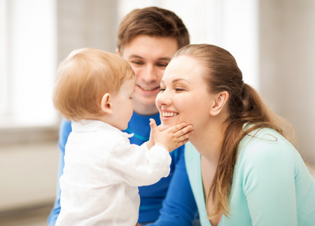знакомство с ребенком